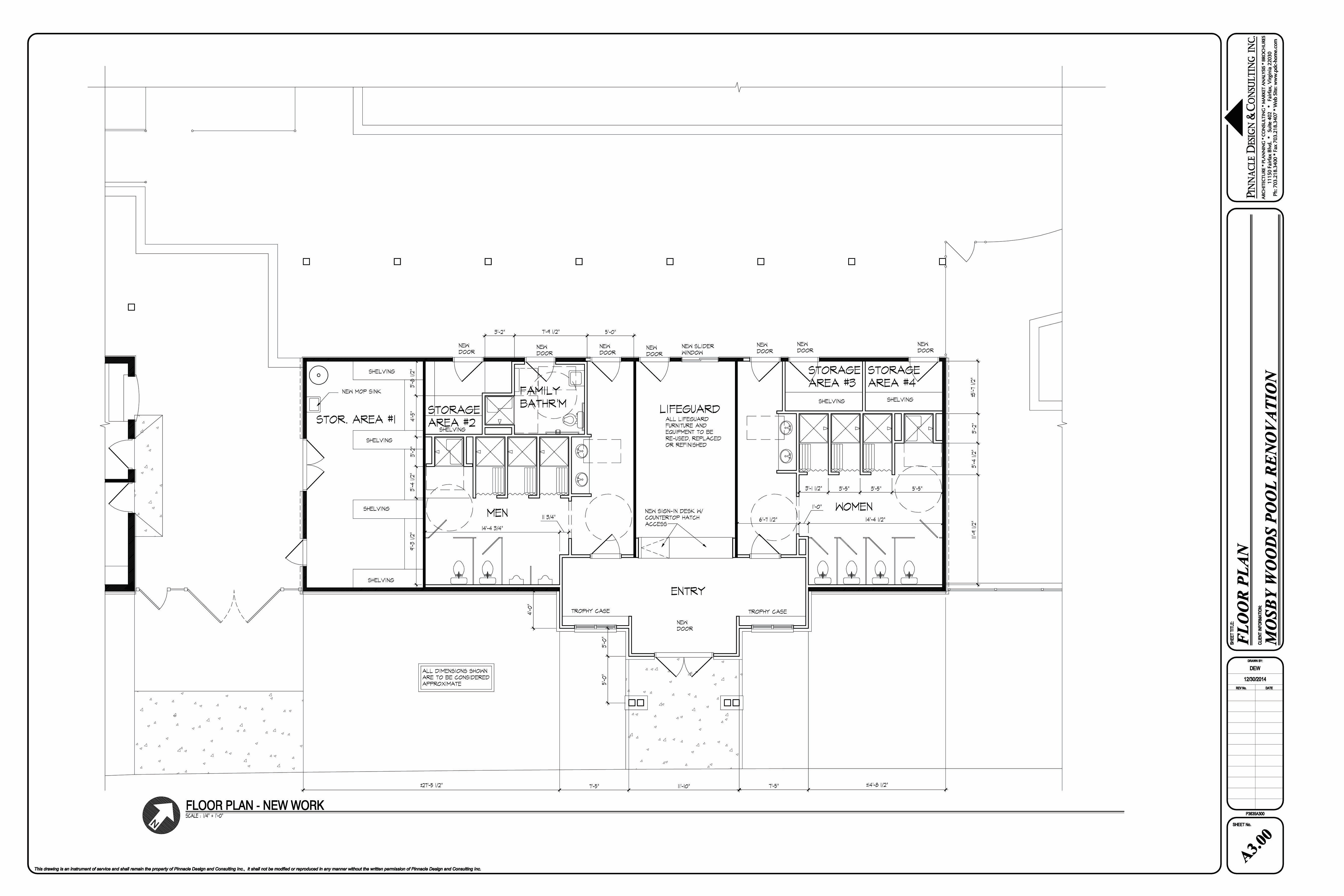 plans for renovated pool house and grounds mosby woods pool rendering full site pool house
